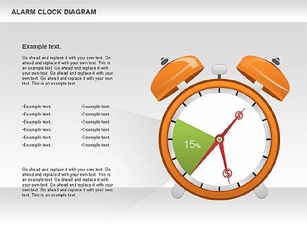 Alarm Clock Chart, Slide 2, 01030, Business Models — PoweredTemplate.com