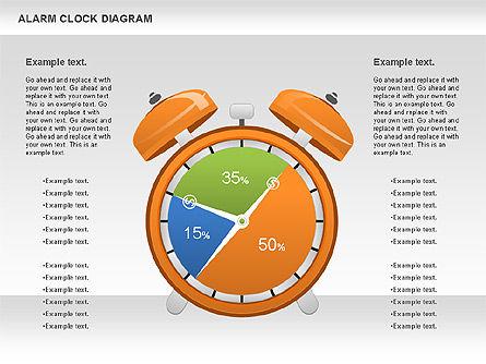 Alarm Clock Chart, Slide 4, 01030, Business Models — PoweredTemplate.com