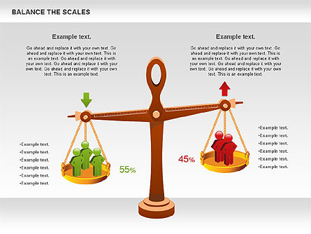 Balance the Scales Diagram, Slide 3, 01031, Business Models — PoweredTemplate.com