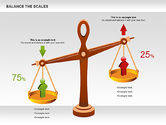 Business Models: Balance the Scales Diagram #01031