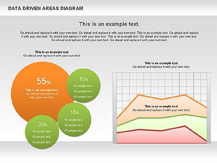 Data Driven Area Diagram, Slide 10, 01032, Business Models — PoweredTemplate.com