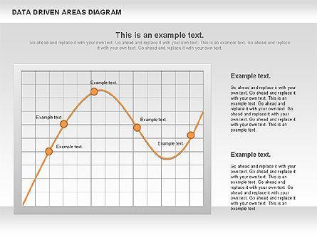 Data Driven Area Diagram, Slide 11, 01032, Business Models — PoweredTemplate.com