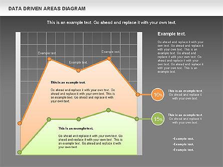 Data Driven Area Diagram, Slide 14, 01032, Business Models — PoweredTemplate.com