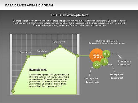 Data Driven Area Diagram, Slide 16, 01032, Business Models — PoweredTemplate.com