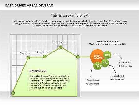Data Driven Area Diagram, Slide 5, 01032, Business Models — PoweredTemplate.com