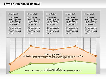 Data Driven Area Diagram, Slide 6, 01032, Business Models — PoweredTemplate.com