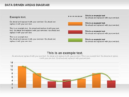 Data Driven Area Diagram, Slide 7, 01032, Business Models — PoweredTemplate.com