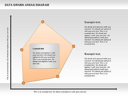 Data Driven Area Diagram, Slide 9, 01032, Business Models — PoweredTemplate.com