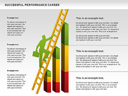 Successful Performance Career, 01034, Business Models — PoweredTemplate.com
