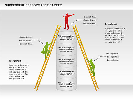 Successful Performance Career, Slide 2, 01034, Business Models — PoweredTemplate.com