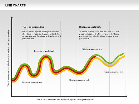 Curve Chart, 01039, Graph Charts — PoweredTemplate.com