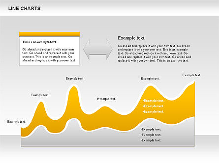 Curve Chart, Slide 2, 01039, Graph Charts — PoweredTemplate.com