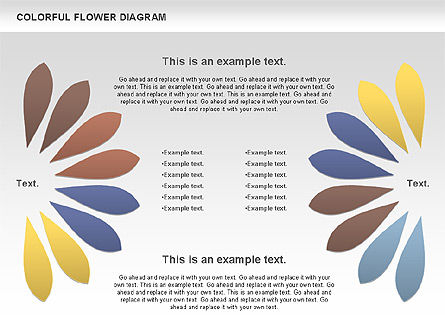 Colorful Flower, Slide 2, 01041, Business Models — PoweredTemplate.com