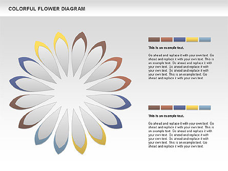 Colorful Flower, Slide 4, 01041, Business Models — PoweredTemplate.com