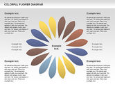 Business Models: Colorful Flower #01041