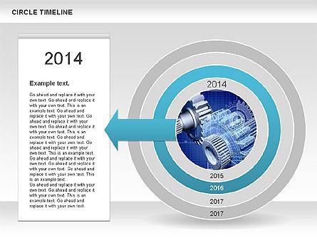 Timelines & Calendars: Circle Timeline #01042