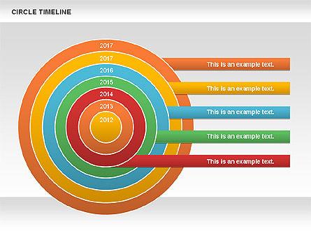 Circle Timeline, Slide 2, 01042, Timelines & Calendars — PoweredTemplate.com