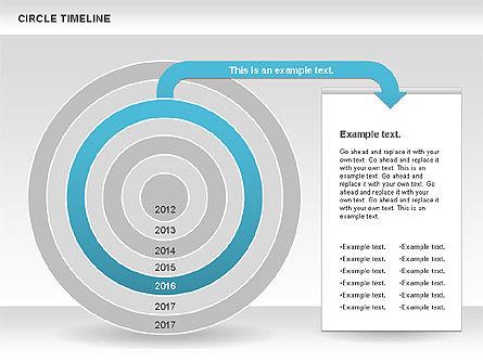 Circle Timeline, Slide 7, 01042, Timelines & Calendars — PoweredTemplate.com