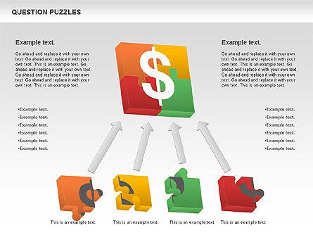 To Guess a Riddle Diagram, Slide 7, 01044, Puzzle Diagrams — PoweredTemplate.com