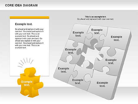 Puzzle Diagrams: Core Idea Puzzle Diagram #01045