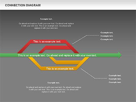 Connection Plan, Slide 14, 01047, Business Models — PoweredTemplate.com