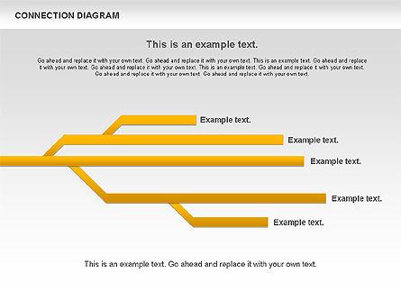 Connection Plan, Slide 8, 01047, Business Models — PoweredTemplate.com