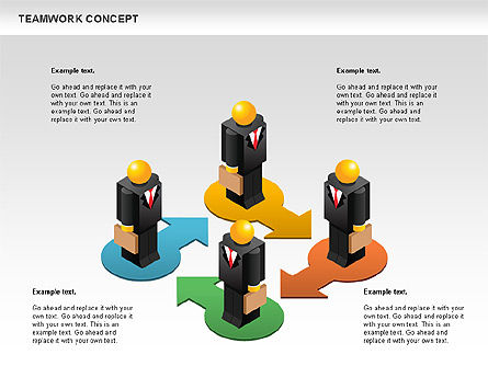 Business Models: Teamwork Concept #01049