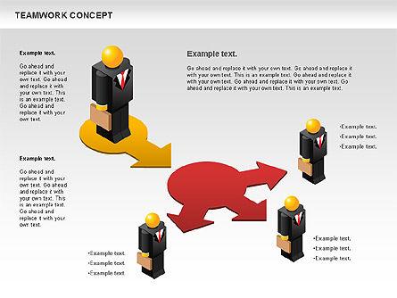 Teamwork Concept, Slide 10, 01049, Business Models — PoweredTemplate.com