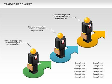 Teamwork Concept, Slide 7, 01049, Business Models — PoweredTemplate.com