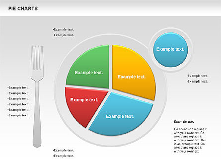 Pie Charts: Pie Chart on a Plate #01050