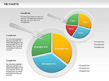 Pie Chart on a Plate Slide 3