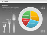 Pie Chart on a Plate#16