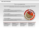 Pie Chart with Circle Process (data-driven)#6