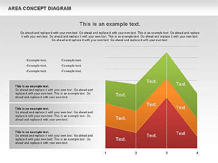 Area Concept Diagram (data-driven), Slide 9, 01055, Business Models — PoweredTemplate.com