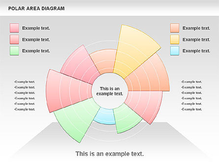 Polar Area Diagram Presentation Template For Google