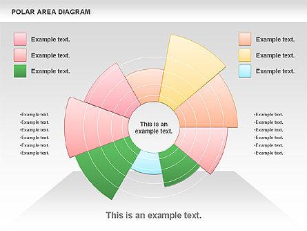 Polar Area Diagram, Slide 3, 01056, Pie Charts — PoweredTemplate.com