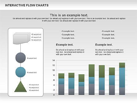 Interactive Flow Chart (data-driven), Slide 10, 01057, Flow Charts — PoweredTemplate.com