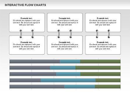 Interactive Flow Chart (data-driven), Slide 11, 01057, Flow Charts — PoweredTemplate.com