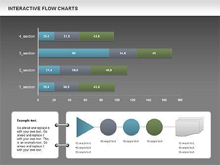 Interactive Flow Chart (data-driven), Slide 14, 01057, Flow Charts — PoweredTemplate.com