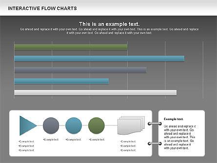 Interactive Flow Chart (data-driven), Slide 15, 01057, Flow Charts — PoweredTemplate.com