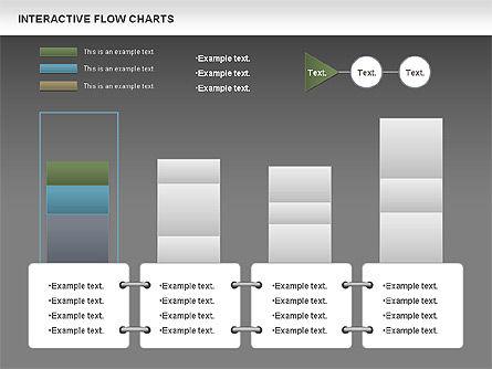 Interactive Flow Chart (data-driven), Slide 16, 01057, Flow Charts — PoweredTemplate.com