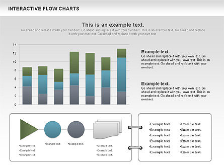 Interactive Flow Chart (data-driven), Slide 2, 01057, Flow Charts — PoweredTemplate.com