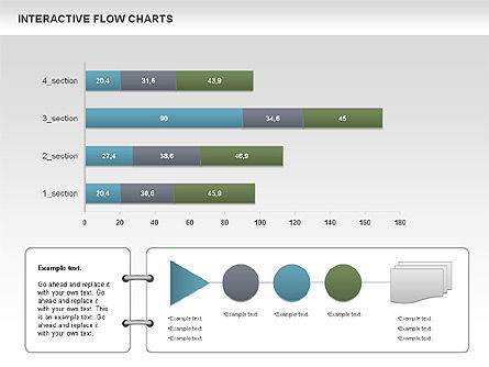 Interactive Flow Chart (data-driven), Slide 3, 01057, Flow Charts — PoweredTemplate.com