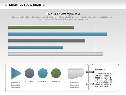Interactive Flow Chart (data-driven), Slide 4, 01057, Flow Charts — PoweredTemplate.com