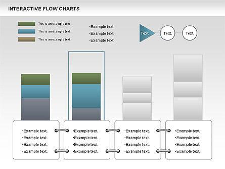Interactive Flow Chart (data-driven), Slide 6, 01057, Flow Charts — PoweredTemplate.com