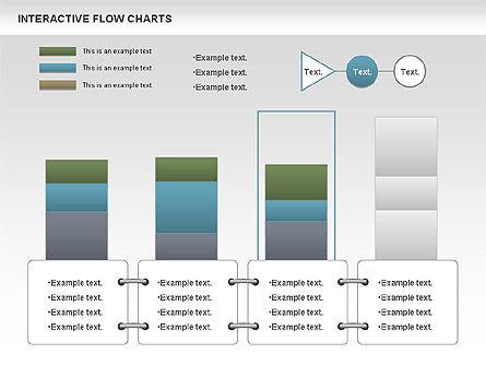 Interactive Flow Chart (data-driven), Slide 7, 01057, Flow Charts — PoweredTemplate.com