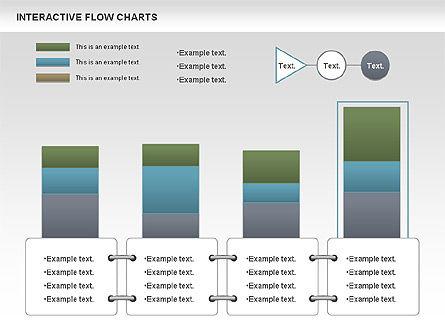 Interactive Flow Chart (data-driven), Slide 8, 01057, Flow Charts — PoweredTemplate.com