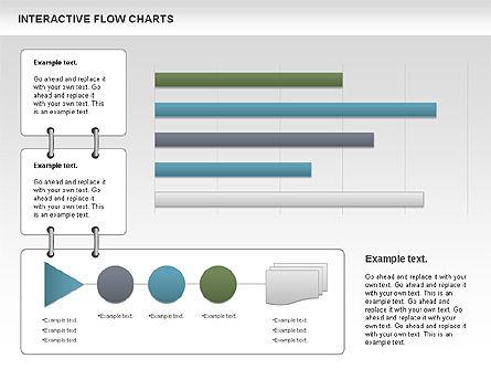 Interactive Flow Chart (data-driven), Slide 9, 01057, Flow Charts — PoweredTemplate.com