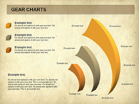 Gears Chart, Slide 11, 01060, Stage Diagrams — PoweredTemplate.com