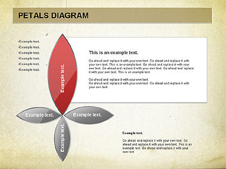 Free Petal Stages Chart, 01065, Stage Diagrams — PoweredTemplate.com